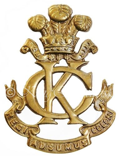 Kings Colonials Badge