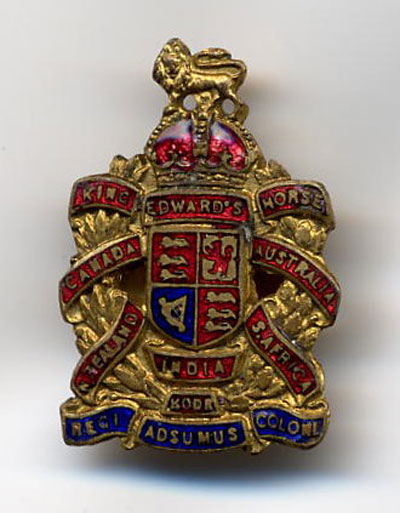 Old Comrades Lapel Badge