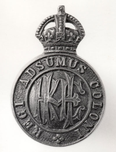 c WWI Officers Badge